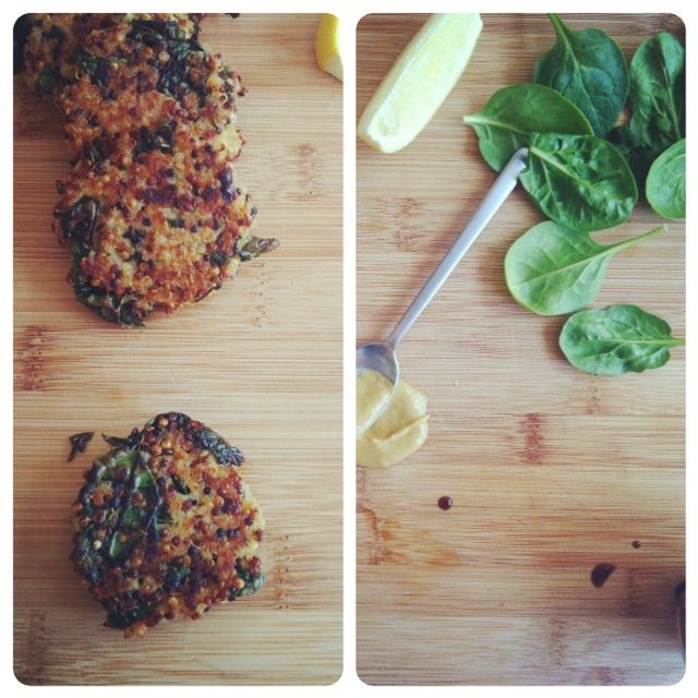 My two favorite foods in one: Kale and Quinoa Cakes #recipe by @joythebaker #vegetarian Can be made #vegan & #glutenfree