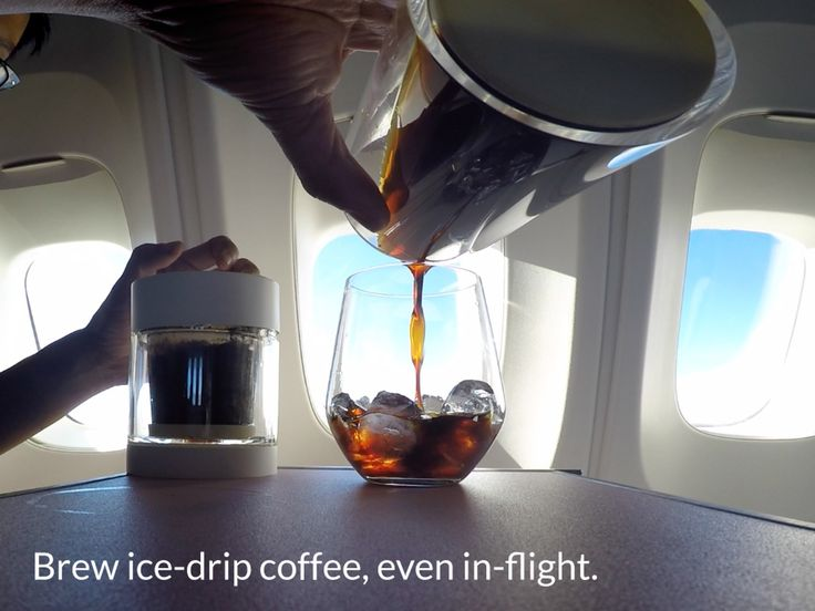 """""""Dripo"""" is a 3-in-1 iced-drip coffee maker brings a fresh and easier way for you to make and enjoy your own ice drip coffee anywhere."""