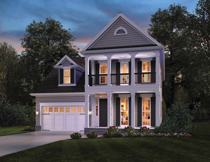 Best 25 narrow lot house plans ideas on pinterest for One story retirement house plans