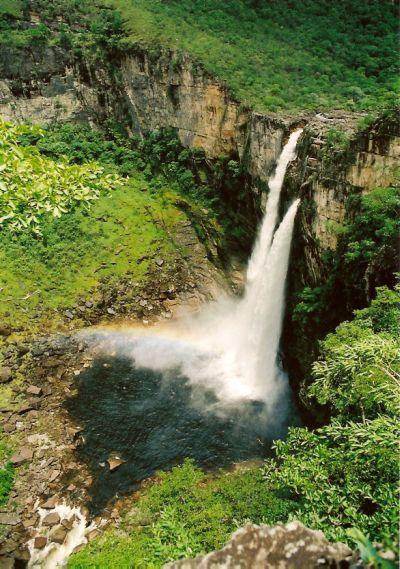 The National Park of #Chapada dos Veadeiros ,Brazil.