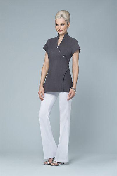 112 best images about delantal on pinterest florence - Beauty salon uniforms ...