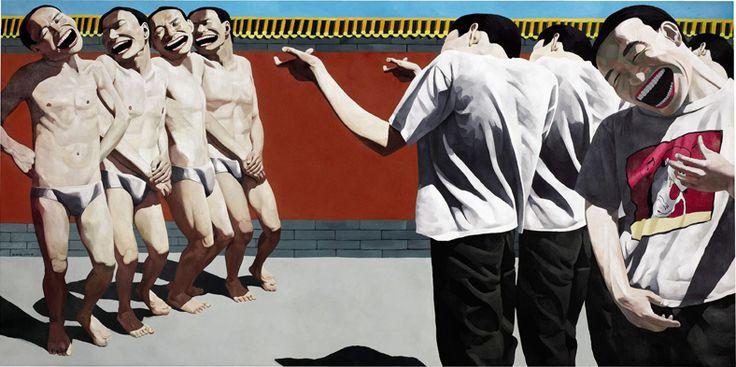 Yue Minjun y el realismo cínico chino