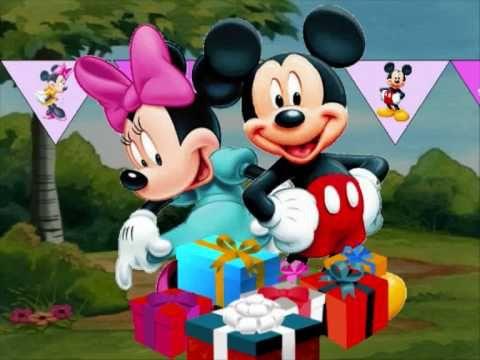 Lang zal ze leven ( Mickey Mouse) verjaardagslied
