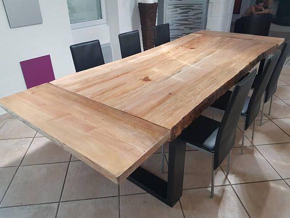Fabriqué dans nos atelier cette magnifique table de salle à ...