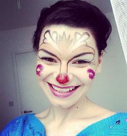 #fantacy #fantacymakeup #mua #makeup #makeuplover #makeupaddict #facepainting #painting #kidsmakeup #funny #smile #eyes #hair #brunette #browneyes #bambi #reindeer #littlereindeer #lips #pink #pinklips #glitter