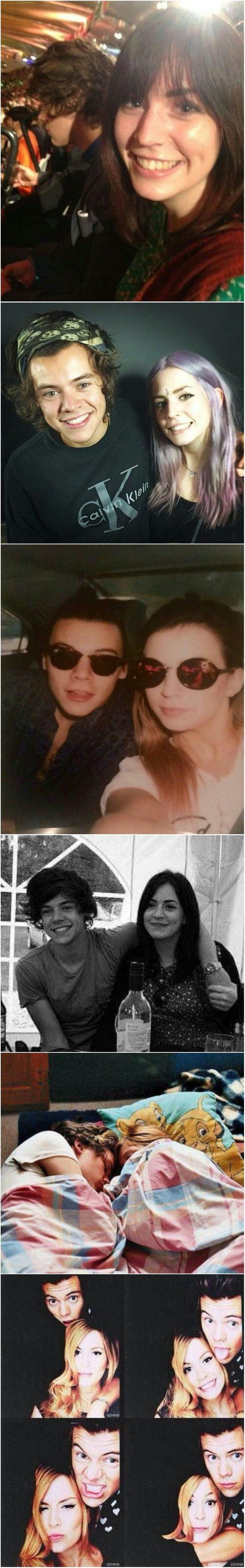 Harry and Gemma- Either they resemble each other a lot or they don't even look related at all.