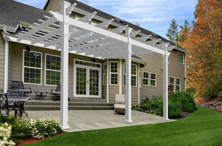 What if the pergola came off the house and extended the length of where we would hang out? Are there rules about pergola over fire pits?