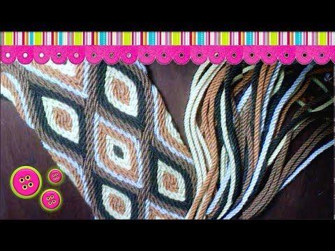 Gasa Wayuu 24 cordones - YouTube