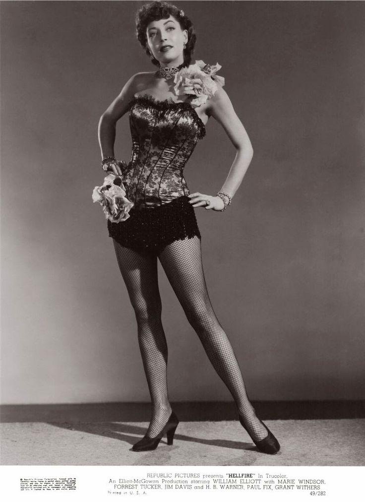 Film Noir Photos: Dance Hall Demoiselles: Marie Windsor