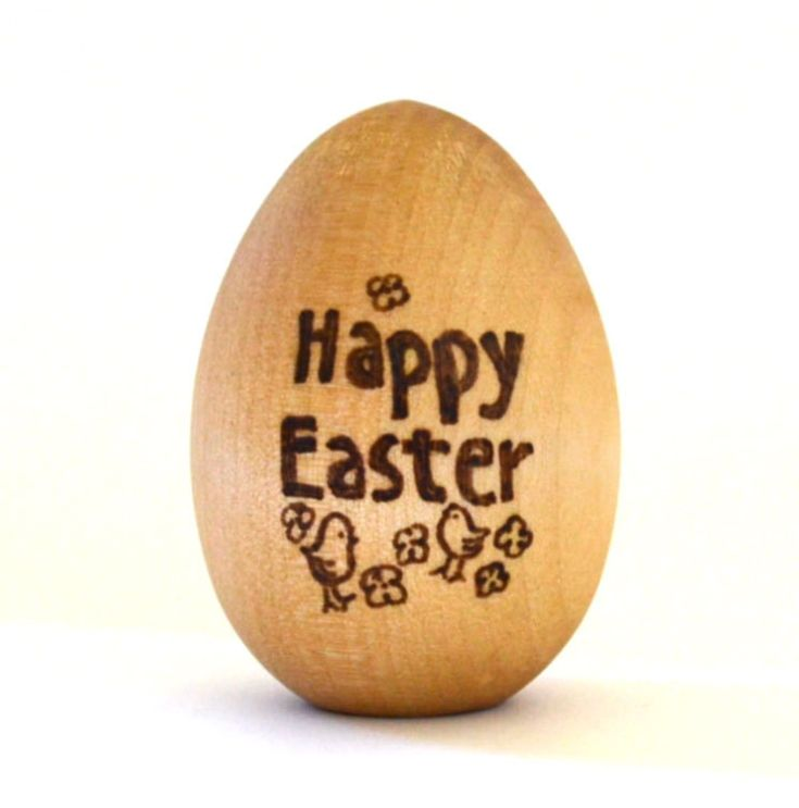 Wood Toy - Personalized Wooden Easter Egg - Waldorf Wooden Toy - Organic and Eco-Friendly Gift. $10.00, via Etsy.