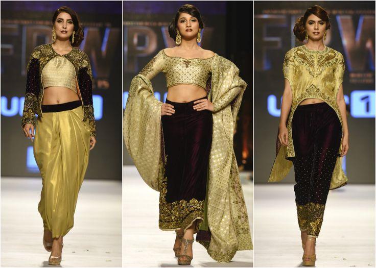 Wardha Saleem, Fashion Pakistan Week,... - High Fashion Pakistan
