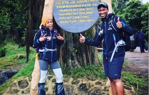 South African racing driver Gugu Zulu has died on Kilimanjaro.