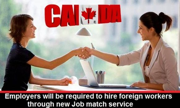 Employers will be Required to Hire Foreign Workers through New #Job Match Service...https://goo.gl/JCtU3H  #moreVisas #JobsinCanada #Canada  https://www.morevisas.com/immigration-news-article/employers-will-be-required-to-hire-foreign-workers-through-new-job-match-service/5200/