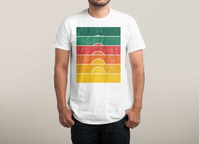 """Yesterday is Redeemed at the Sunrise"" by radiomode on men's t-shirts 