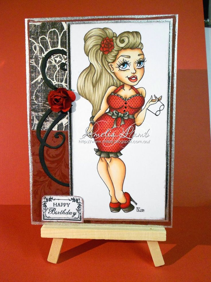 Milly's Cards: The Stamping Chef - Curvebomb http://thestampingchef.com/Shop/