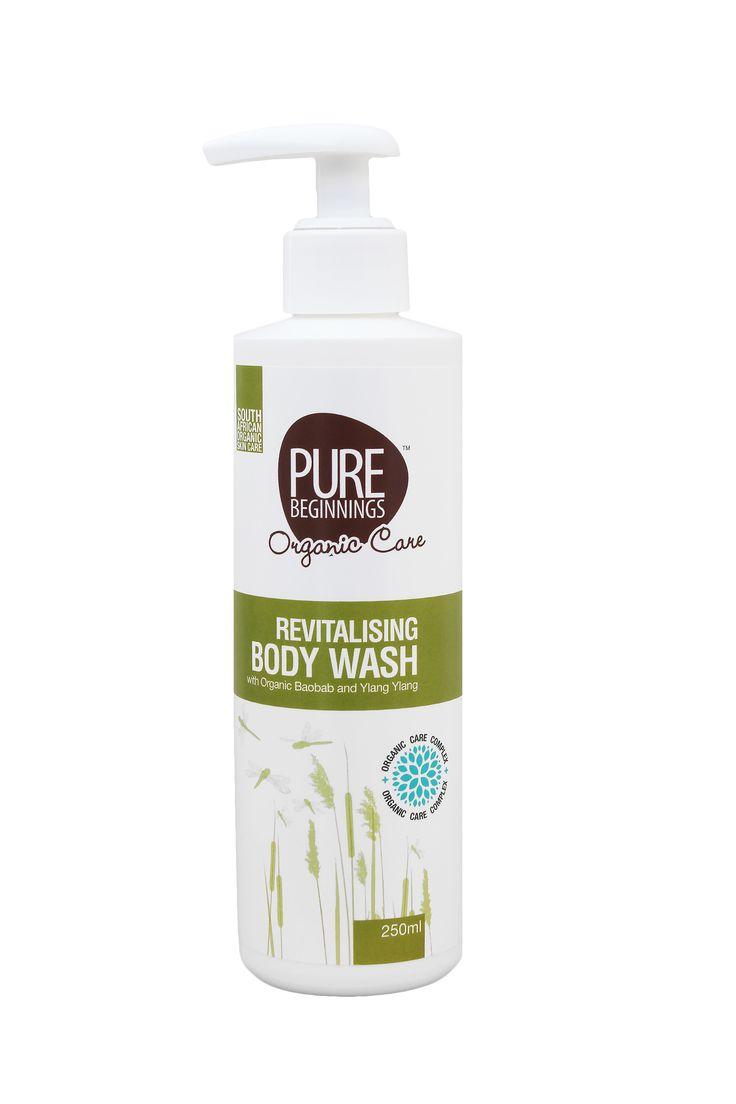 250ml REVITALISING BODY WASH - with Organic Baobab and Ylang Ylang **Organic Baobab and Ylang Ylang Suitable for the whole family, this natural SLS-free body wash infused with community sourced organic Baobab fruit extract will leave skin feeling soft and clean.  **The natural citrus and ylang ylang fragrance combine to make bath and shower time a delightful experience.