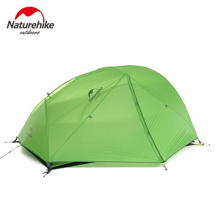 US$109  Feb Only 10% - 91% off.  Naturehike 1-2 person Outdoor Tent Silicone Fabric Ultralight Double Layer Aluminum Rod waterproof Camping Tent travel hiking ~  #Camping