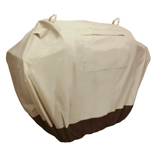 KHOMO GEAR - SAHARA Series - Waterproof Heavy Duty BBQ Grill Cover - Medium 58 x 24 x 48 - Different Sizes Available - Compatible with Weber (Genesis), Holland, Jenn Air, Brinkmann, Char Broil, Kenmore & More - Check this out at... http://outdoorlivingandpatioessentials.com/bbq-grills/khomo-gear-sahara-series-waterproof-heavy-duty-bbq-grill-cover-medium-58-x-24-x-48-different-sizes-available-compatible-with-weber-genesis-holland-jenn-air-brinkmann-char-broil-kenmor/