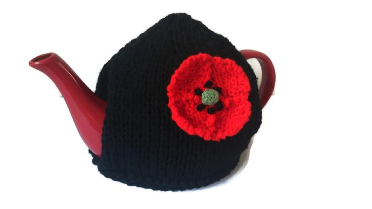 Poppy+Tea+Cosy+Hand+Knitted, £16.99