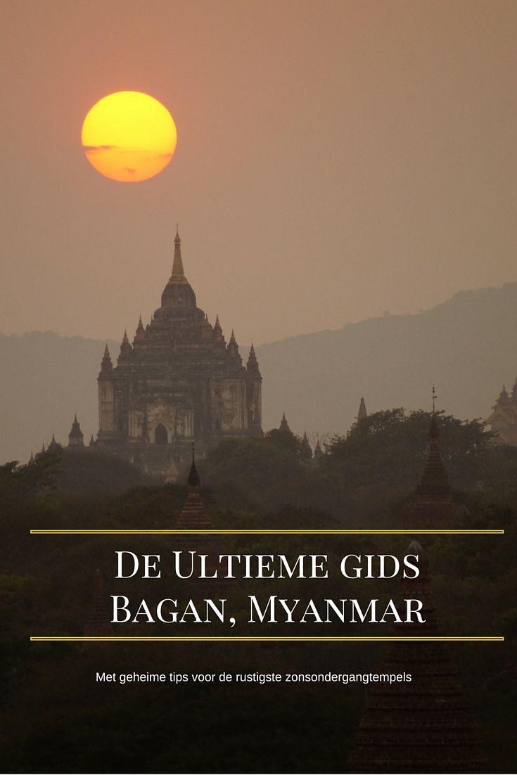 De ultieme gids voor Bagan Myanmar, met geheime zonsondergangtempels. Ga je op vakantie in Myanmar dan is je rondreis niet compleet zonder een bezoek aan Bagan. De oude tempelstad Bagan is de nummer 1 bezienswaardigheid van Myanmar en één van de meest bijzondere historische plekken in Zuid-Oost Azië