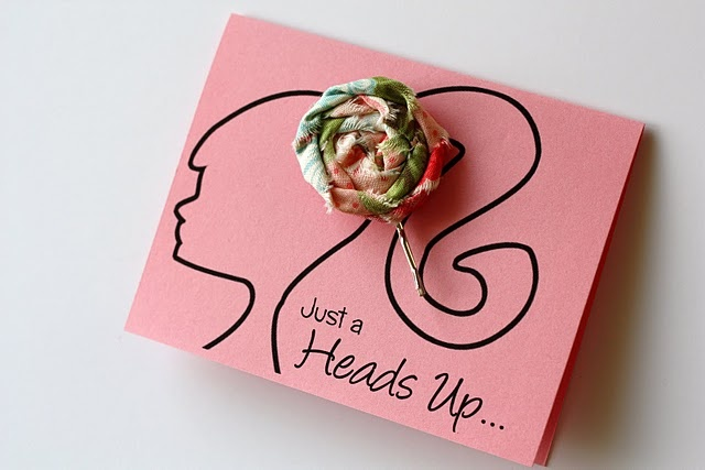 I would love to give this as a party favor... Cute!