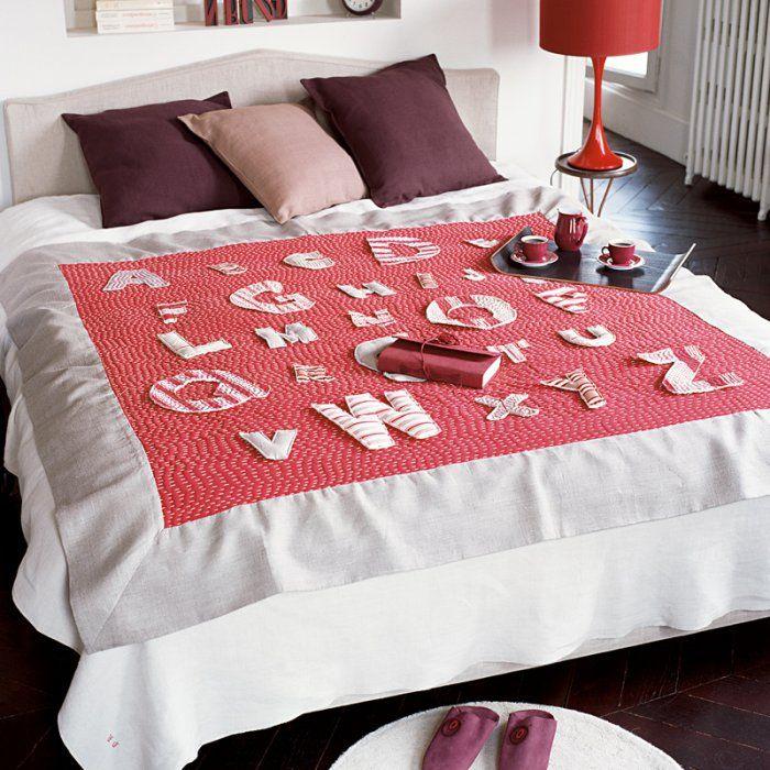 17 meilleures id es propos de lettres en tissu sur pinterest lettres magn tiques projets de. Black Bedroom Furniture Sets. Home Design Ideas