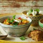 Healthy lentil, tomato