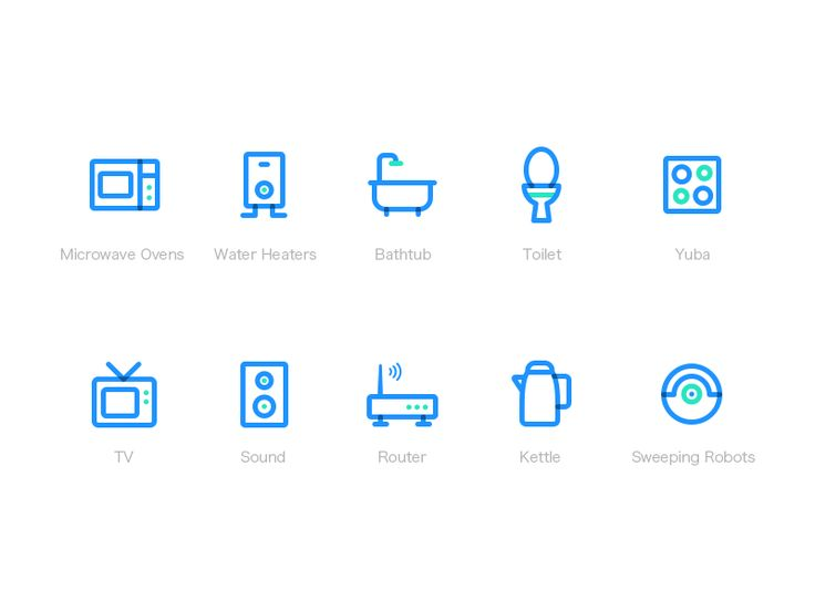 Smart home Icon by shuishouge #Design Popular #Dribbble #shots