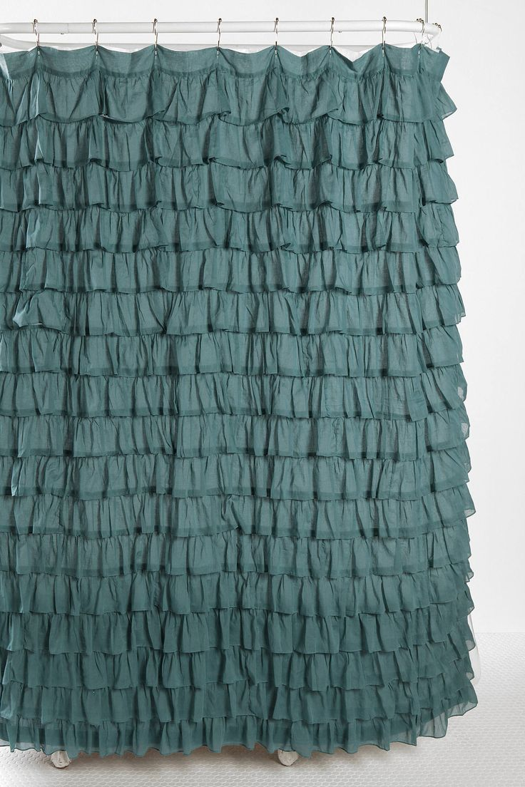 Solid teal shower curtain - Solid Teal Shower Curtain 30