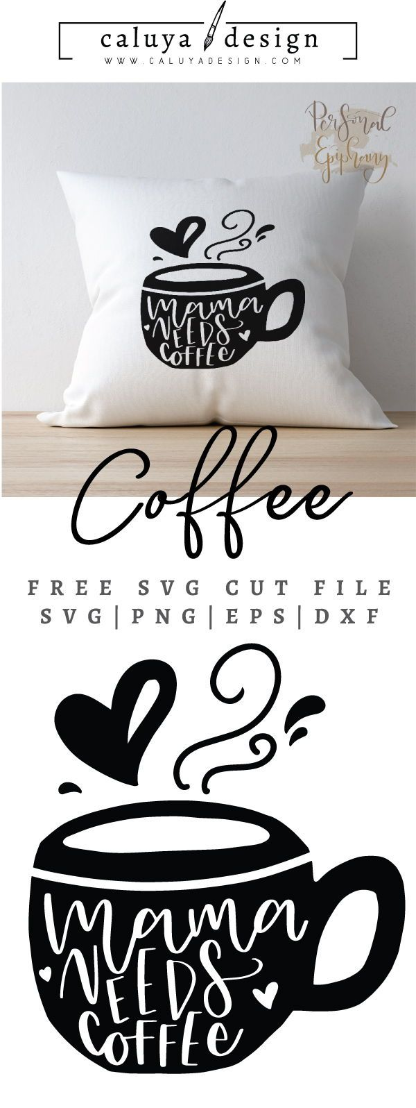 FREE mom needs coffee cut file, Printable vector clip art download. Free printable clip art mom needs coffee . Compatible with Cameo Silhouette, Cricut explore and other major cutting machines. 100% for personal use, only $3 for commercial use. Perfect for DIY craft project with Cricut & Cameo Silhouette, card making, scrapbooking, making planner stickers, making vinyl decals, decorating t-shirts with HTV and more! Free SVG cut file, free mom needs coffee SVG cut file, coffee SVG, quote SVG