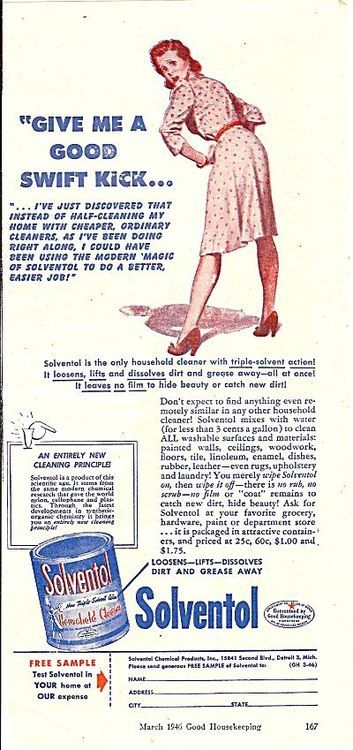 Tumblr Strange Vintage Ad notice the heels. Interesting how long and detailed the product description is. No one would read all that today, kind of demeaning too