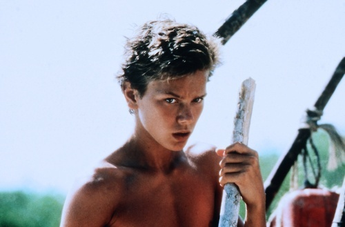River Phoenix in the Mosquito Coast as Charlie Fox
