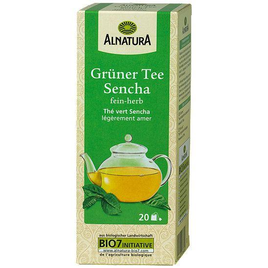 Alnatura Grüner Tee Sencha, Tee im dm Online Shop günstig kaufen.