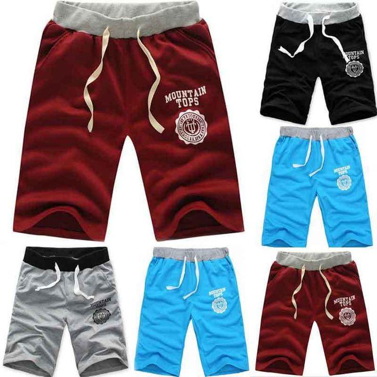 HOT Fashion Mens Cotton Shorts Short Pants Gym Sweatpants Sport Jogging Trousers #wtgoc #CasualShorts