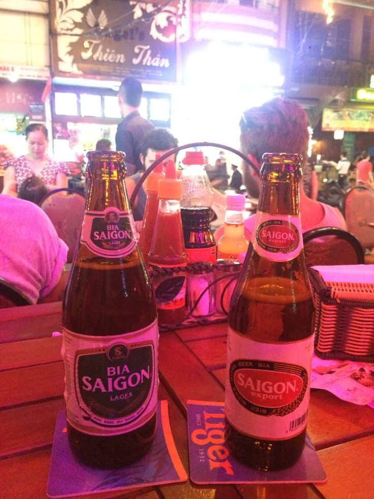 Bui Vien - the backpackers area has lots of bars, clubs and activities going on at night