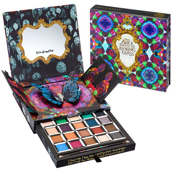 Urban Decay Alice Through the Looking Glass Eyeshadow Palette 0.8 oz... ($60) ❤ liked on Polyvore featuring beauty products, makeup, eye makeup, eyeshadow, eyes, beauty, shiny eyeshadow, urban decay eye shadow, palette eyeshadow and urban decay