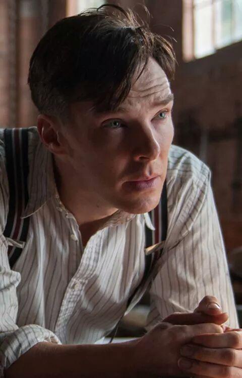 Benedict as Alan Turing in The Imitation Game