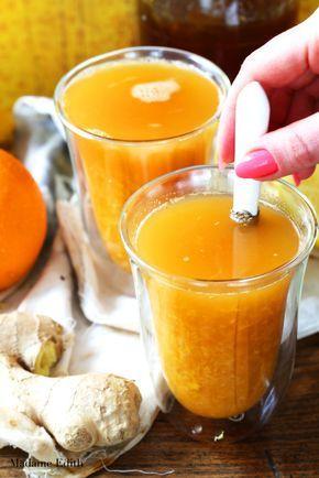 Herbata pomarańczowa z imbirem – na przeziębienie