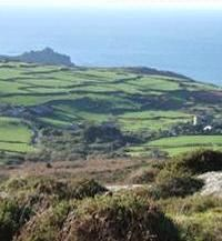 The beautiful Cornish coast of Zennor, Cornwall, UK