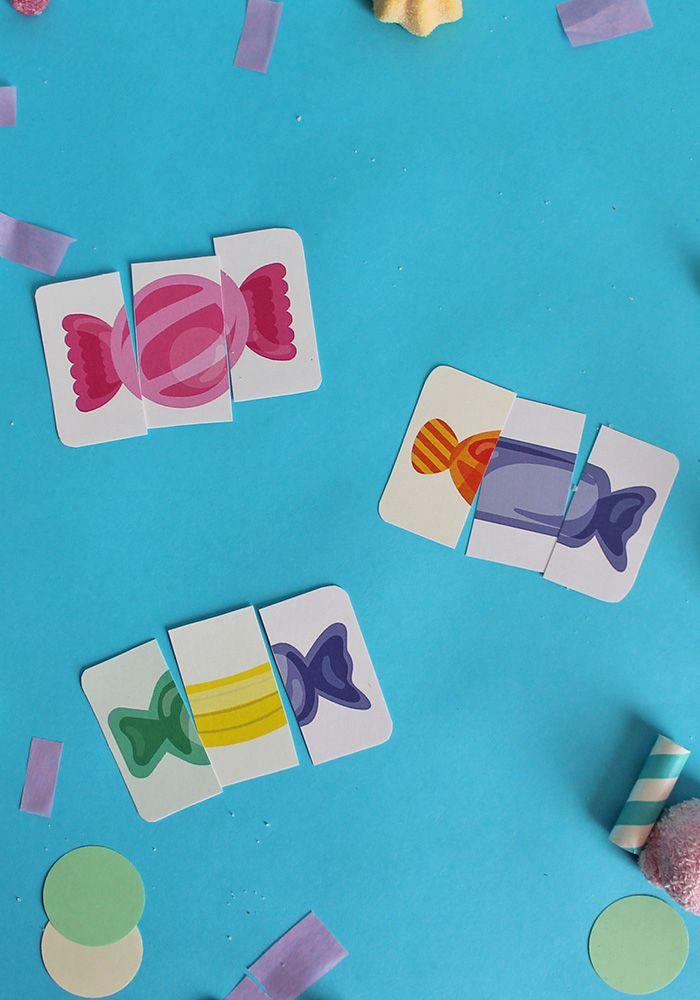 Scarica gratis il fantastico kit con il gioco di carte delle caramelle monelle! printable gratis. Scopri di più sul blog!
