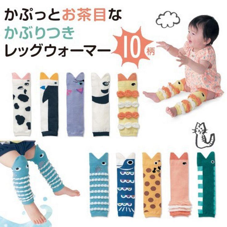Животное Хлопка Малыш Малыш Детские Гетры Для Ползающих Младенцев Гетры Наколенники Для Детей Носки Короткие Kneepad 0-3-летнего