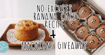 No-Excuses Simple Banana Cake