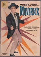 Dell FC Four Color #930 MAVERICK James Garner WESTERN comic book 1958