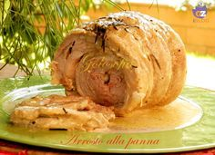 Arrosto+di+vitello+alla+panna,+ricetta+secondi+saporita