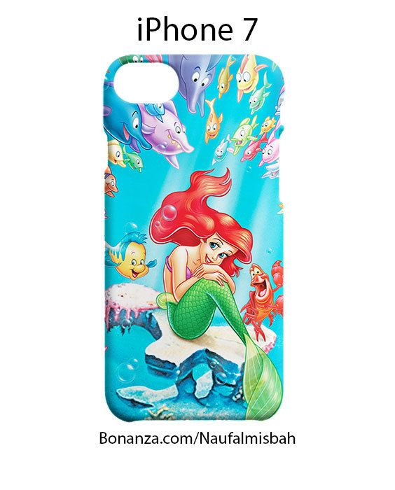 Ariel the Little Mermaid iPhone 7 Case Cover Wrap Around