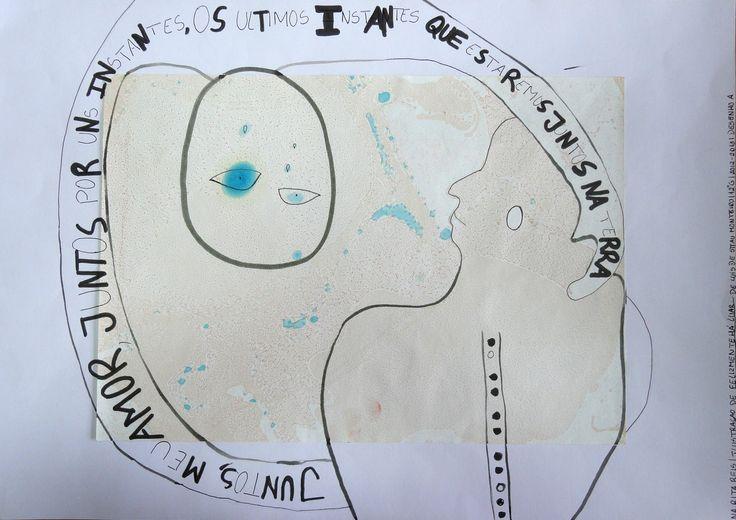 CADERNO DIÁRIO: Ilustração  Tachismo