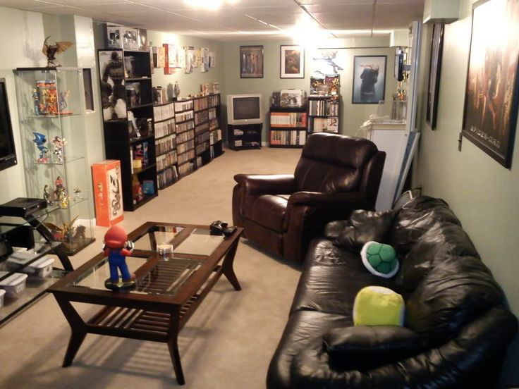 Man Cave Ideas Nerd : Small game room designs. fabulous gaming rooms wow with