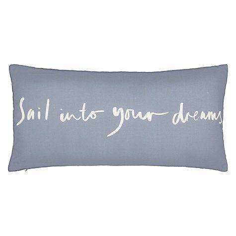 John Lewis Sail Into Your Dreams Cushion #FashionYourHome