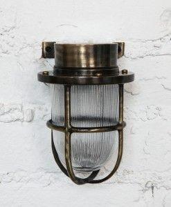 bulkhead wall light antique brass (3)