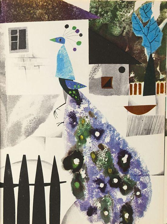 Illus. by Zbigniew Rychlicki for Nowi przyjaciele Misia Uszatka, 1963
